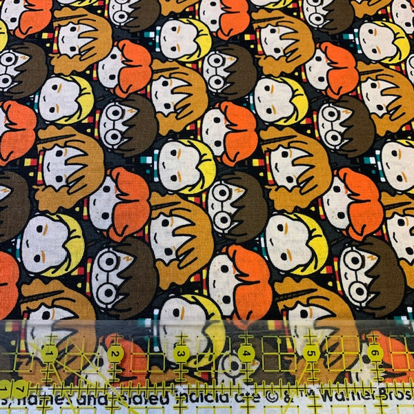 Harry Potter Chibi Fabric, Camelot