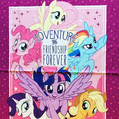 My Little Pony Adventure Fabric Panel, Camelot