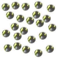 Olivine 3mm Iron-On Rhinestones