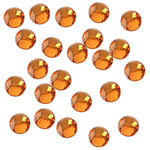 Sun Orange 3mm Iron-On Rhinestones