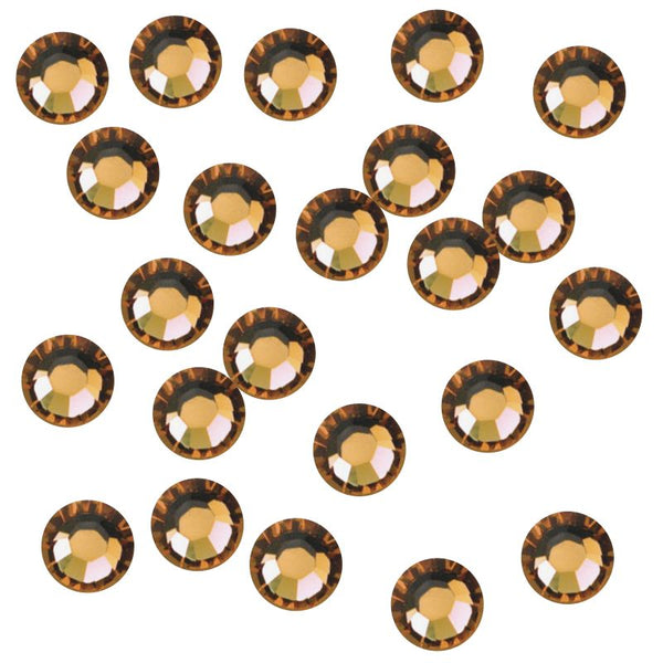 Topaz 3mm Iron-On Rhinestones