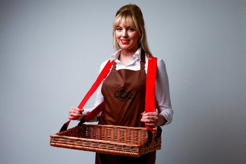 Wicker Usherette Tray