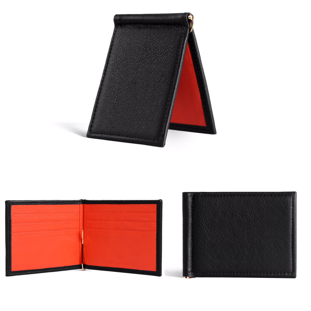 Presenting our new product: the black billfold wallet
