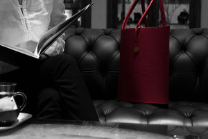 The Hermine bag at the Ritz - Carlton hotel