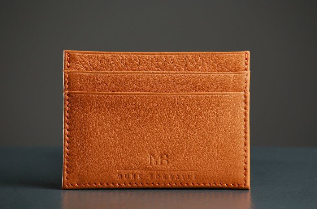 Credit Card Holder - Cognac