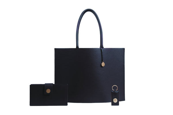 Hermine Tote Bag - Navy Blue