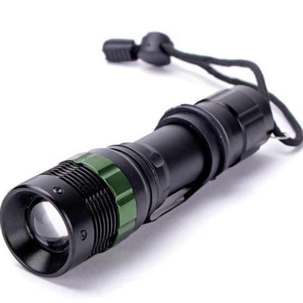 Portable Flashlight Zoomable Flashlight Torch 3500 LM 3 Modes XML T6 LED Rechargeable A linternas frontales cabeza