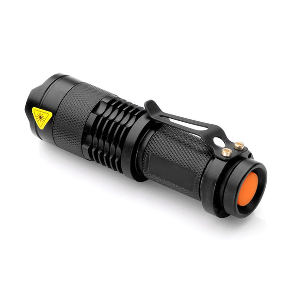 LED Flashlight Zoomable Torch