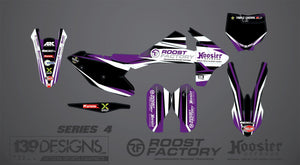 Bike Graphic Kit for 85cc-450cc - Roost Factory Hoosier Offroad USA