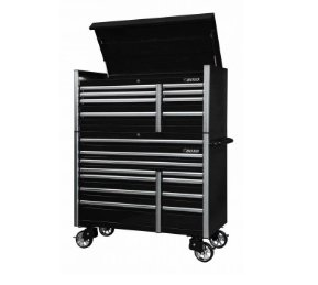 "BOXO 54"" 8 Drawer Top Chest (Gloss Black) - Roost Factory Hoosier Offroad USA"