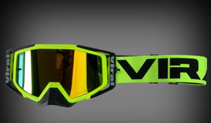 Factory Series Goggle Kit - Neon, Black, Neon/Black - Roost Factory Hoosier Offroad USA