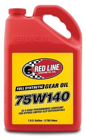 Red Line Oil 75W140 GL-5 Gear Oil - Roost Factory Hoosier Offroad USA