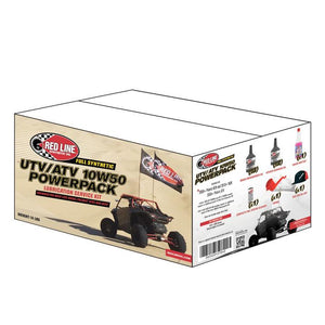 Red Line Oil UTV/ATV 10W50 PowerPack - Roost Factory Hoosier Offroad USA