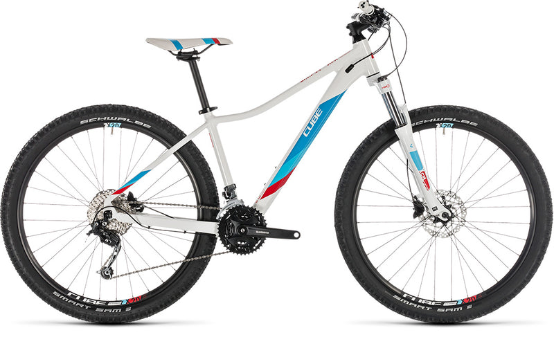 Cube Access WS Pro white´n´blue 2019