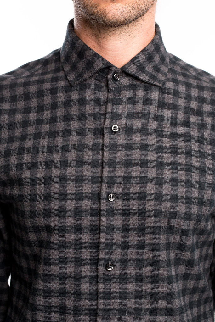 Black Flannel Check