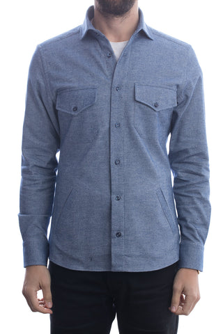 Black Selvedge Field Shirt