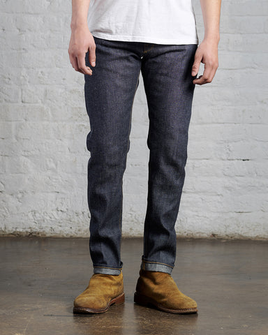 Slim Linen Denim