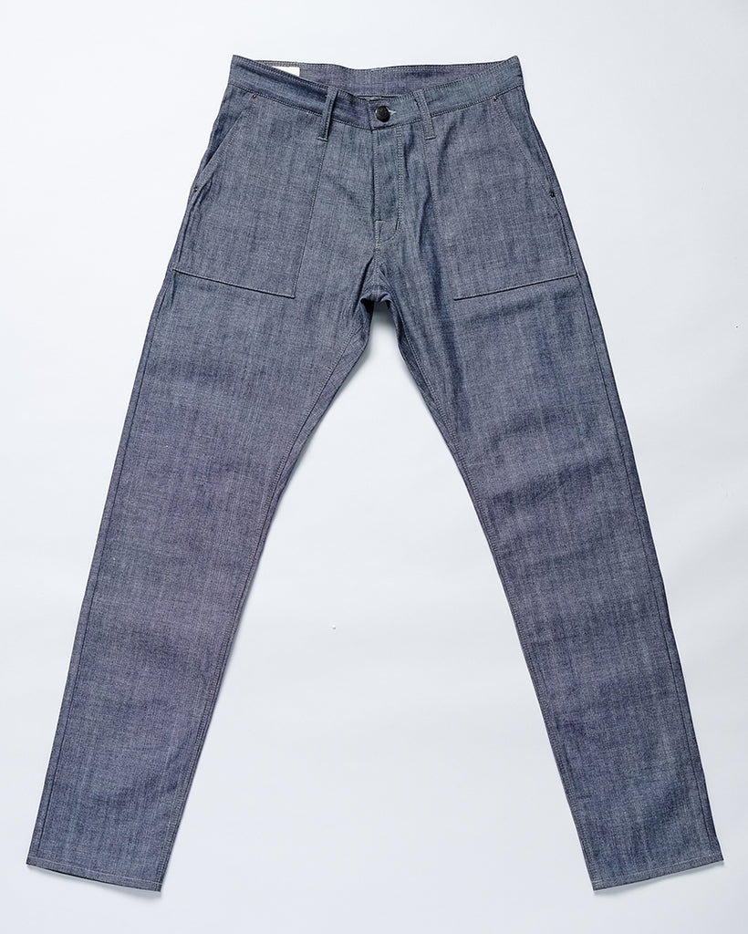 Chambray Fatigue Trouser