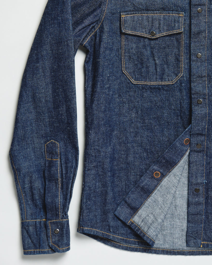 Denim Utility Shirt