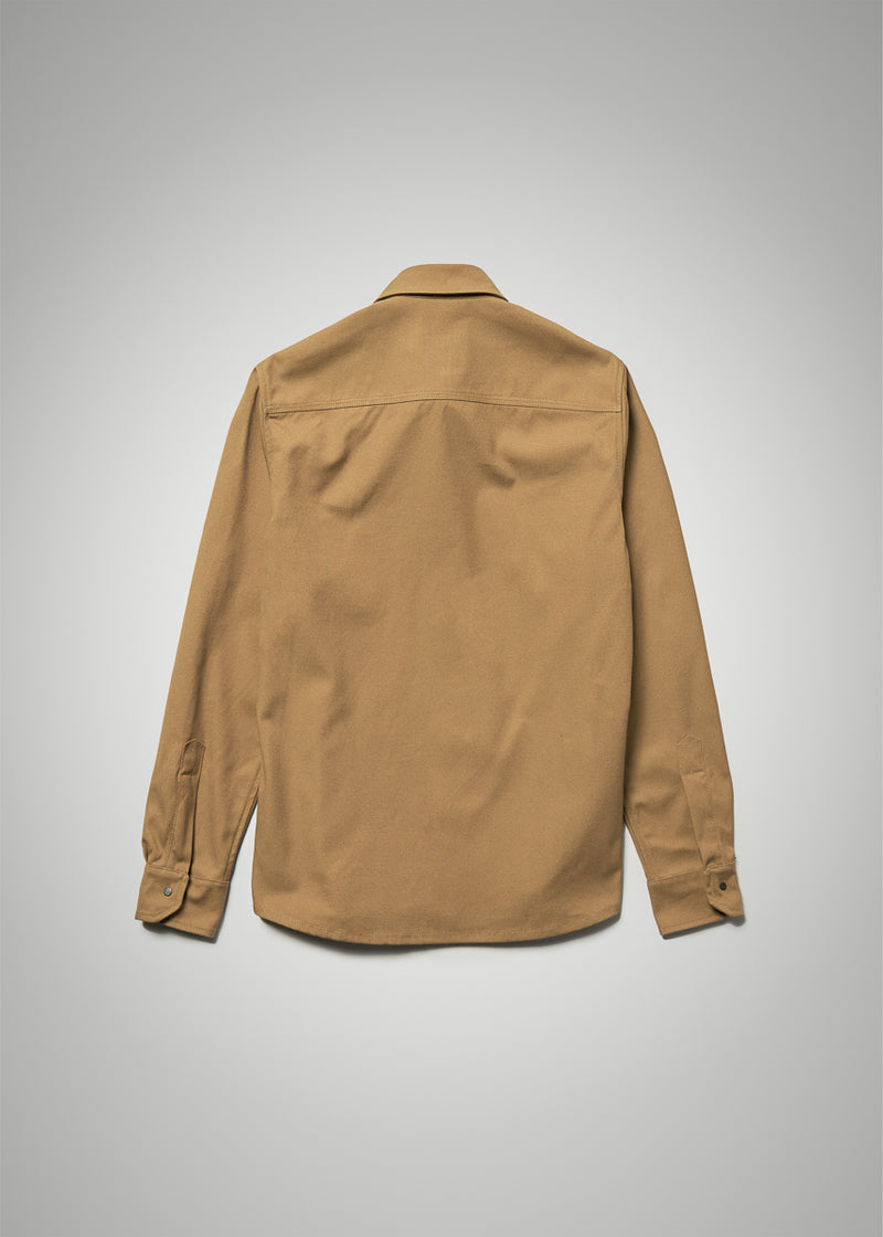 Utility Shirt in Coyote Canvas