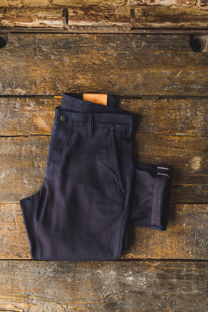 Indigo Canvas Trouser