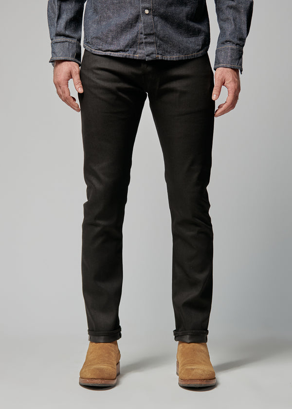 Slim Black Selvedge