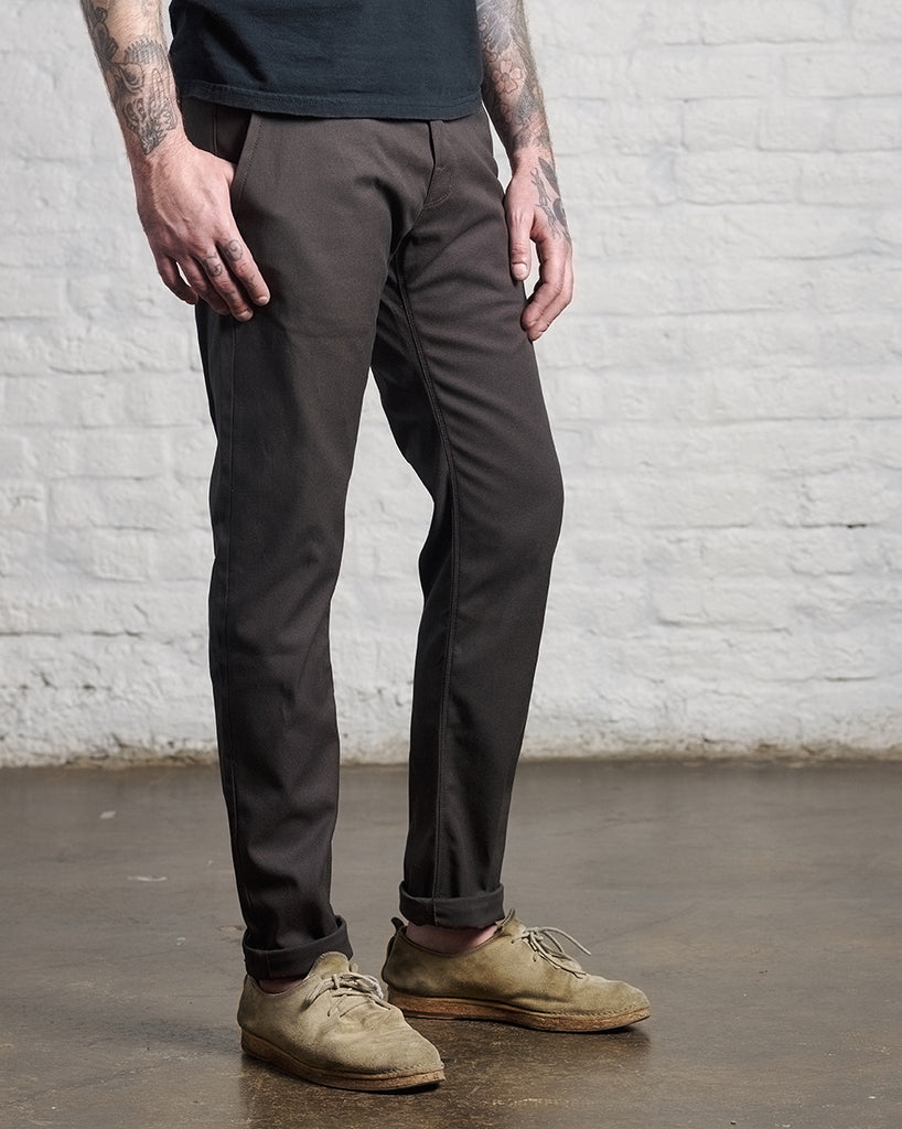 Field Chino Charcoal Canvas