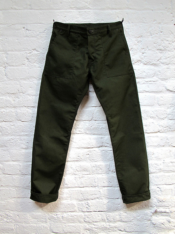 Deadstock Canvas Military Trouser