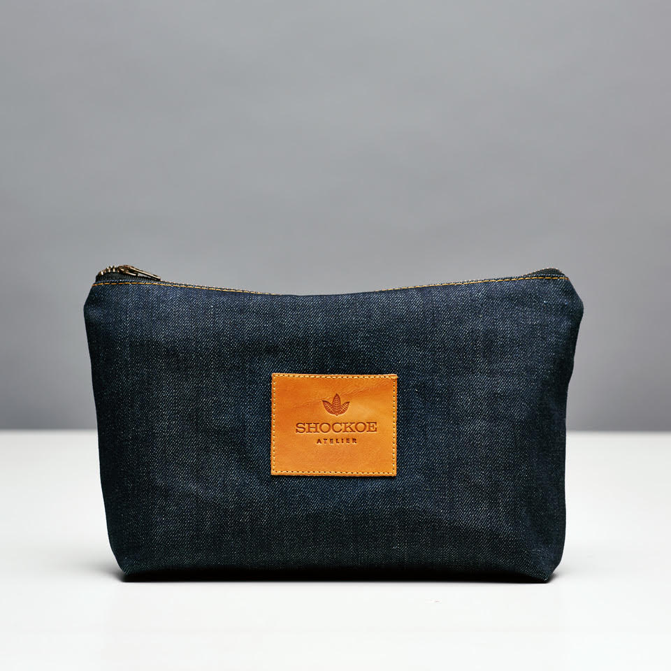 Denim Dopp Kit