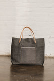 Charcoal Selvedge Tote Bag