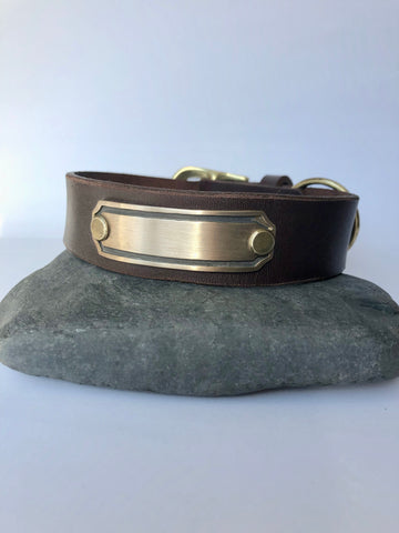 Dog Collar - Generic/Brass