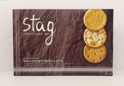 Stag Cheeseboard Selection Biscuits