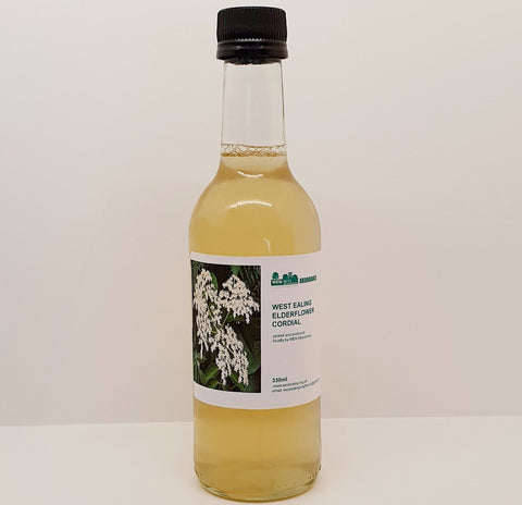 West Ealing Elderflower Cordial - 330ml