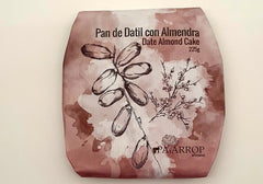 Pan de Datil con Almendra - Date Almond Cake