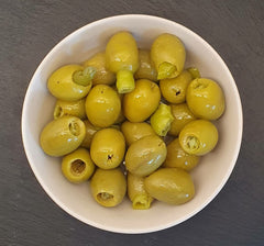 Gordal Pitted Olives Stuffed with Guindilla Chilli