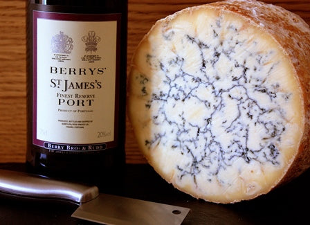 Stilton and Port - a Christmas Delight