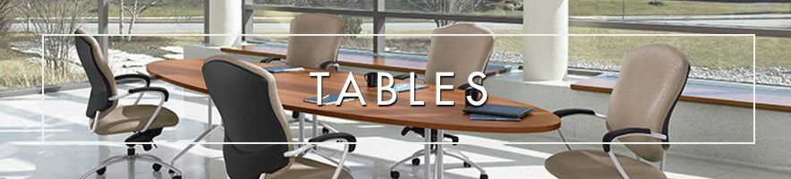 Office tables and conference room tables