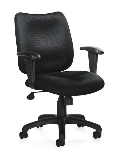 Pneumatic Tilter Chair with Height Adjustable Armrests