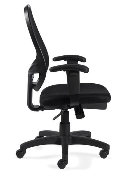 Offices To Go Mesh High Back Managers Chair in Black