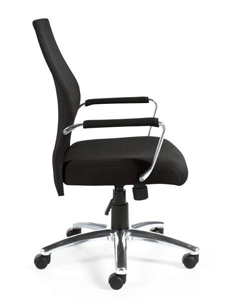 Mesh Back Managers Chair in Black Mesh Fabric