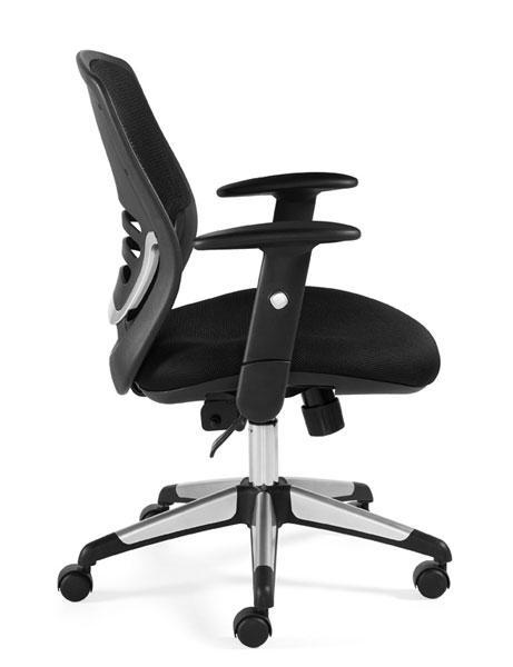Mesh Medium Back Tilter Managers Chair in Black