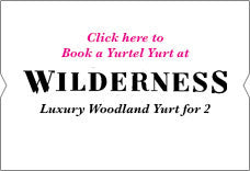 Click to book luxury camping at Wilderness Festival