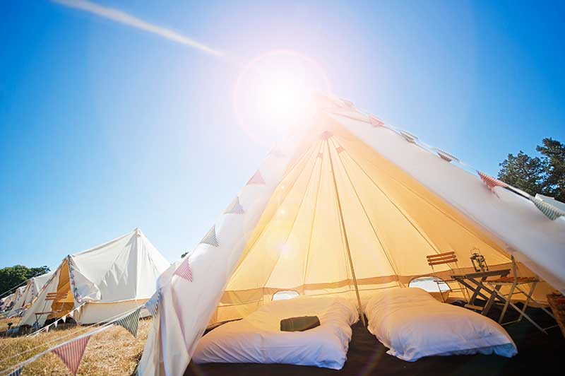 The ultimate in boutique camping