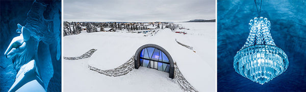 Images from the inside of ICEHOTEL 2016/17