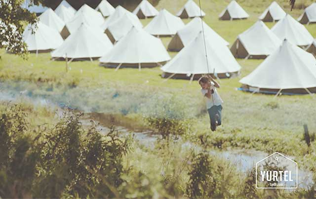 Yurtel's boutique campsites