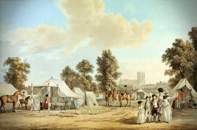 going-camping-01-siftingthepast_an-encampment-in-st-james-park_sandby_1780