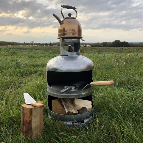 The Gas Bottle Pizza Oven