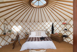 Glastonbury Luxury Yurt - With Hospitality Tickets - £8750 + VAT - Yurtel - The Finest Luxury Boutique Camping in the Land