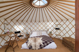 The Big Feastival Luxury Yurt - Yurtel - The Finest Luxury Boutique Camping in the Land