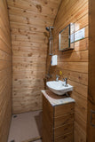 Glastonbury En Suite Hut - With Hospitality Tickets - £9750 + VAT - Yurtel - The Finest Luxury Boutique Camping in the Land